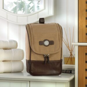 Personalized Travel Bag – Leather – Canvas – Travel Kit – Monogrammed