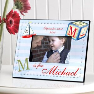 Personalized Children's Frames – Sailor Boy