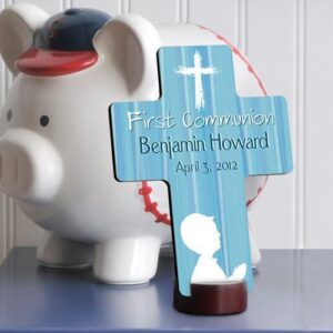 Personalized First Communion Cross for boys and girls