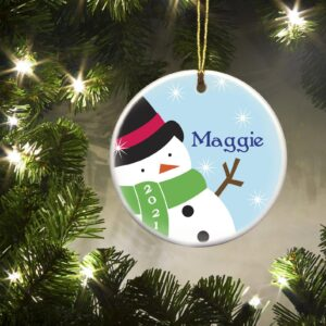 Personalized Ornaments - Christmas Ornaments - Kids - Ceramic