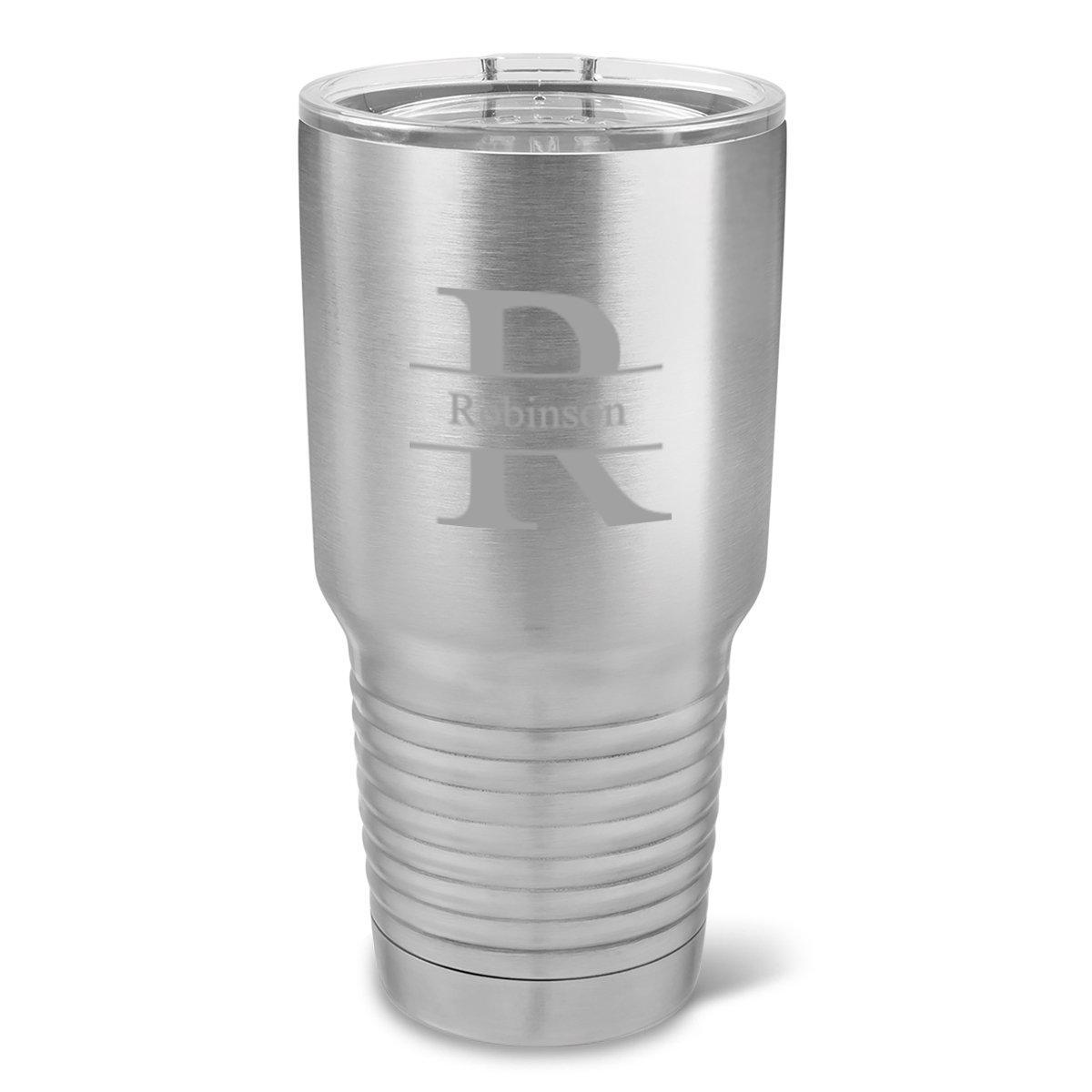 This 30 oz. Stainless Silver Double Wall Insulated Tumbler comes with a sealed lid to prevent spills and vacuum insulation to keep your drink at your preferred temperature.