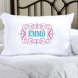 Personalized Felicity Glamour Girl Pillow Case