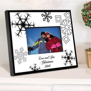 Personalized Snowflake Frame